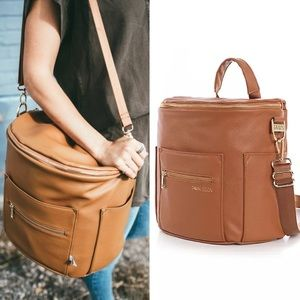 Fawn Design Original Diaper Bag Brown